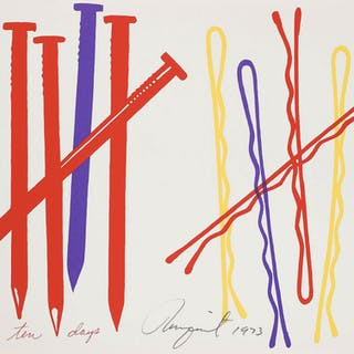 James Rosenquist (b.1933) Ten Days, James Rosenquist (b.1933), Ten Days