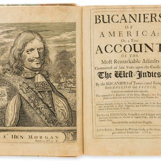Pirates.- Exquemelin (Alexandre Olivier) Bucaniers of America: Or