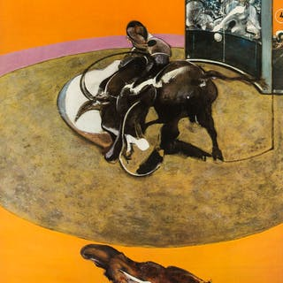 Sir Francis Bacon (1909-1992) (after) An exhibition poster for Grand