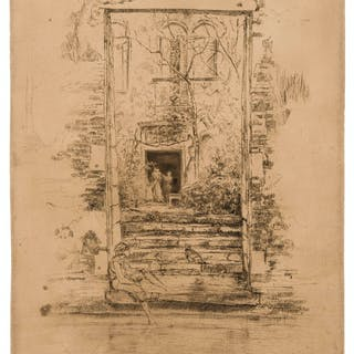 James Abbott McNeill Whistler (1834-1903) The Garden, from: The Second