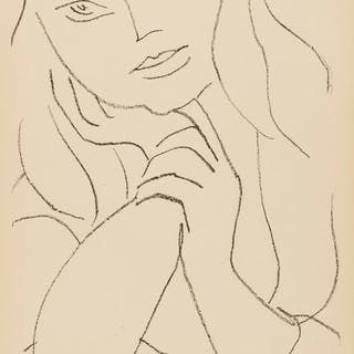 Henri Matisse (1869-1954) Femme Assise, le Main sur le Menton (See