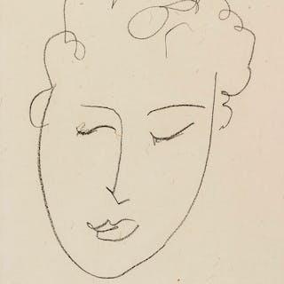 Henri Matisse (1869-1954) Tête de Femme (Duthuit Books 23), Henri