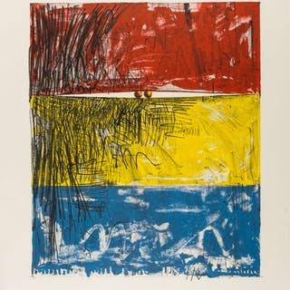 Jasper Johns (b.1930) (after) Two Balls, Jasper Johns (b.1930) (after)