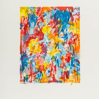Jasper Johns (b.1930) (after) False Start I, Jasper Johns (b.1930)