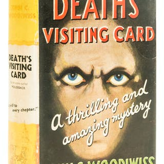 Woodiwiss (John C.) Death's Visiting Card, first edition, [1936].