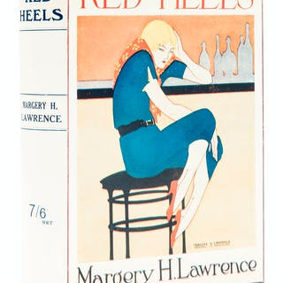 Lawrence (Margery H.) Red Heels, 12th thousand, author's own copy
