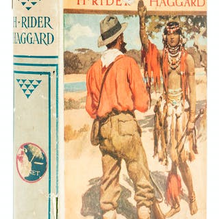 Haggard (H. Rider) Finished, first edition, 1917. Haggard (H. Rider)