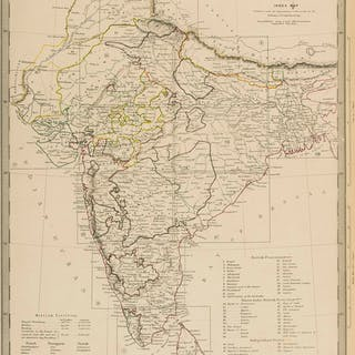 India & Sri Lanka.- SDUK (Society for the Diffusion of Useful Knowledge)