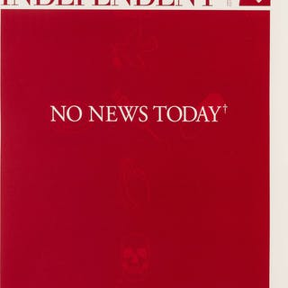 Damien Hirst (b.1965) The Independent (RED), Damien Hirst (b.1965)