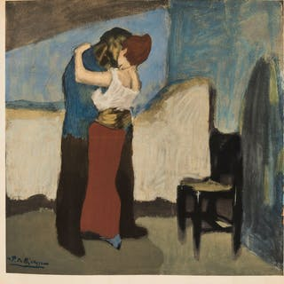 Pablo Picasso (1881-1973) (after) The Embrace, Pablo Picasso (1881-1973)