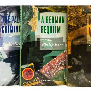 Kerr (Philip) March Violets, first edition, 1989; and 2 others by