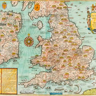 British Isles.- Speed (John) The Invasions of England and Ireland