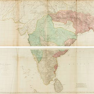 India.- Jefferys (Thomas) The East Indies with the Roads [...] The