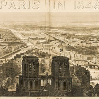 France.- Illustrated London News (The) Paris in 1848. France.- Illustrated