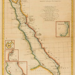 Middle East.- Harrison (John) Arabian Gulf or Red-Sea from D'Anville's