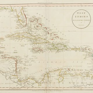 Caribbean.- Russell (John) West Indies Drawn from the Best Authorities