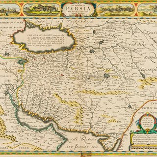 Middle East.- Speed (John) The Kingdome of Persia with the cheef Citties