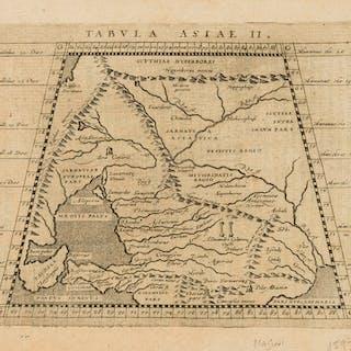 Asia.- Magini (Giovanni Antonio) Tabula Asiae II, [1597]. Asia.- Magini