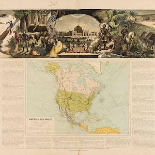 Americas.- Spanish America.- Hermanos (Astort) América del Norte