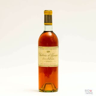 Chateau d'Yquem 1968, 1 bottle, Chateau d'Yquem 1968, 1 bottle