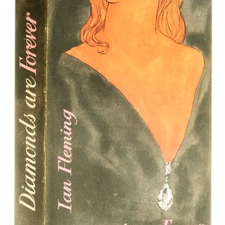 Fleming (Ian) Diamonds are Forever, first edition, 1956. Fleming (Ian)