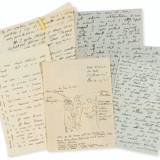 Camden Town Group.- A group of Autograph Letters signed to Walter