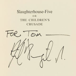 Vonnegut (Kurt) Slaughterhouse-Five; or, the Children's Crusade: A
