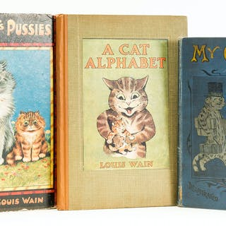 Wain (Louis) A Cat Alphabet, [1914]; and 2 others by the same (5)