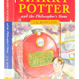 Rowling (J.K.) Harry Potter and the Philosopher's Stone, first edition