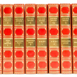 "Austen (Jane) The Novels, 12 vol., ""Winchester Edition"", Edinburgh"