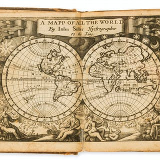 Atlases.- Seller (John) Atlas Minimus or a Book of Geography, [1679].