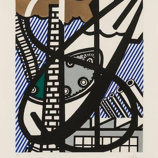 Roy Lichtenstein (1923-1997) Une Fenetre ouverte sur Chicago (Corlett