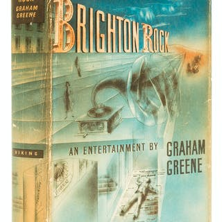 Greene (Graham) Brighton Rock, first edition, signed presentation