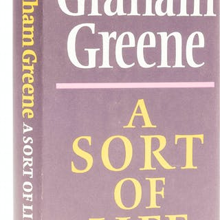 Greene (Graham) A Sort of Life, first edition, signed presentation