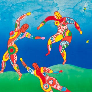Niki de Saint Phalle (1930-2002) La Danse, Niki de Saint Phalle (1930-2002)