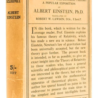 Einstein (Albert) Relativity. The Special & General Theory, first