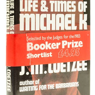 Coetzee (J.M.) Life and Times of Michael K, first English edition