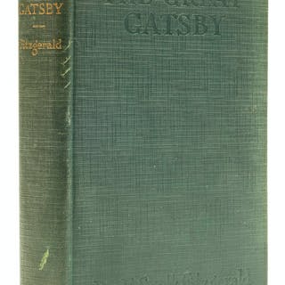 Fitzgerald (F. Scott) The Great Gatsby, first edition, signed presentation