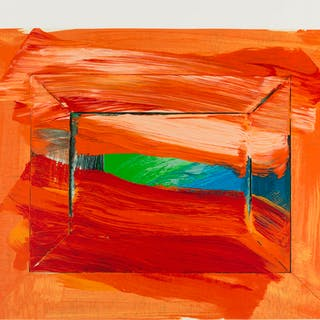Howard Hodgkin (1932-2017) The Sky's the Limit (Not in Heenk), Howard