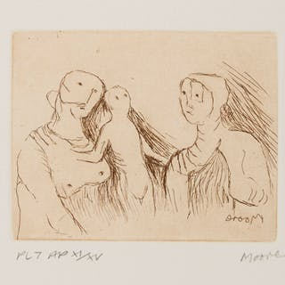 Henry Moore (1898-1986) Mother and Child (Cramer 707), Henry Moore