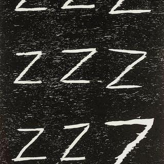 David Shrigley (b.1968) Untitled (Zzz...), David Shrigley (b.1968)