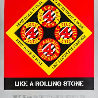 Robert Indiana (1928-2018) Like a Rolling Stone, Robert Indiana (1928-2018)