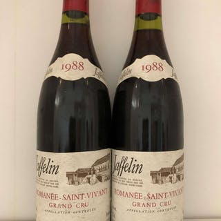 1988 Romanee St Vivant, Jaffelin, Burgundy, France, 2 bottles, 1988