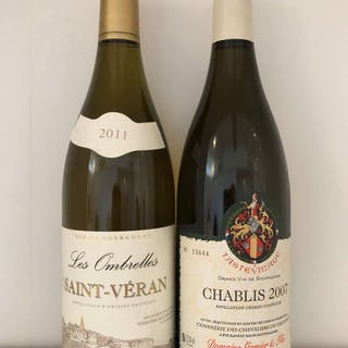 Various Mixed White Burgundy, France, 11 bottles, Various Mixed White