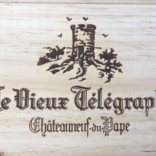2010 Chateauneuf du Pape, Vieux Telegraphe, Rhone, France, 3 bottles