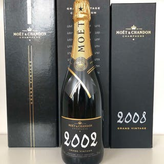 Various Moet et Chandon Grand Vintage Tasting Lot, Champagne, France