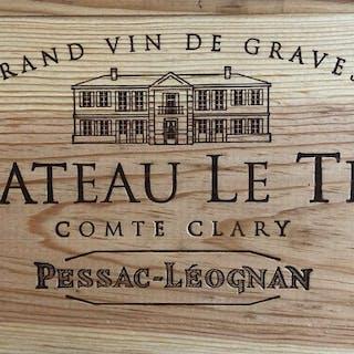 2010 Le Thil Blanc, Comte Clary, Bordeaux, France, 12 bottles, 2010
