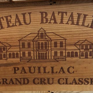 1997 Batailley, Pauillac, Bordeaux, France, 12 bottles, 1997 Batailley