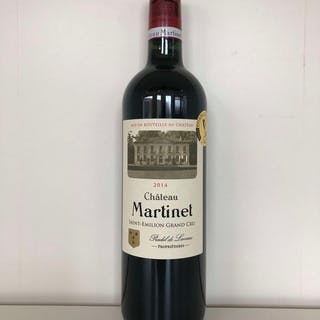 2014 Martinet, St Emilion GC, Bordeaux, France, 12 bottles, 2014 Martinet