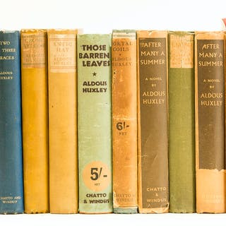 Huxley (Aldous) Chrome Yellow, first edition, 1921; and others by